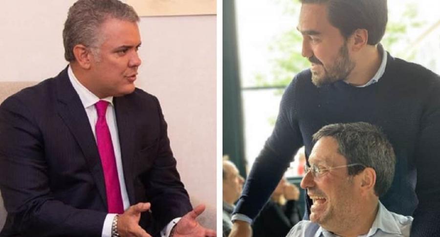 Iván Duque, Gabriel Santos, Francisco Santos
