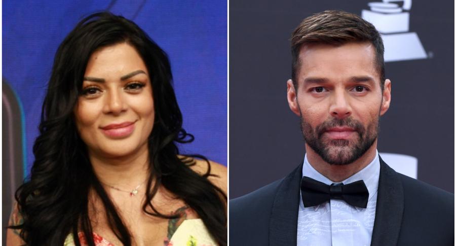Marbelle y Ricky Martin