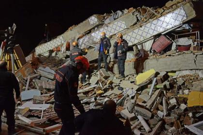 Terremoto Turquía 25 de enero de 2020