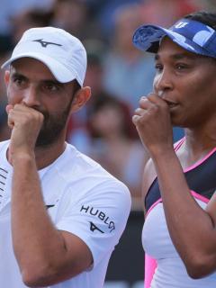 Juan Sebastián Cabal y Venus Williams