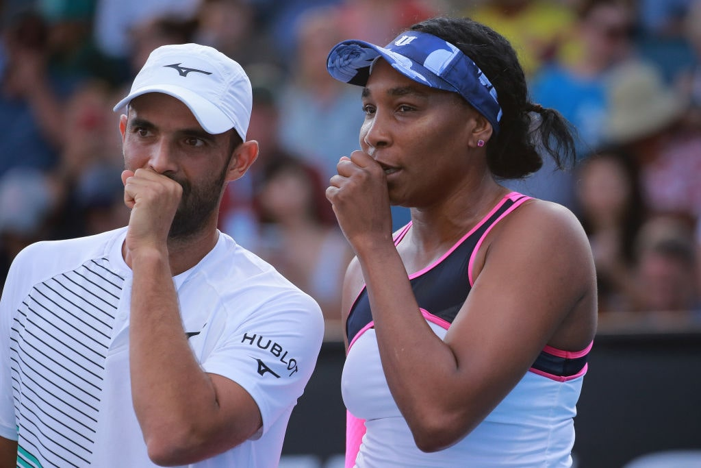 Juan Sebastián Cabal y Venus Williams