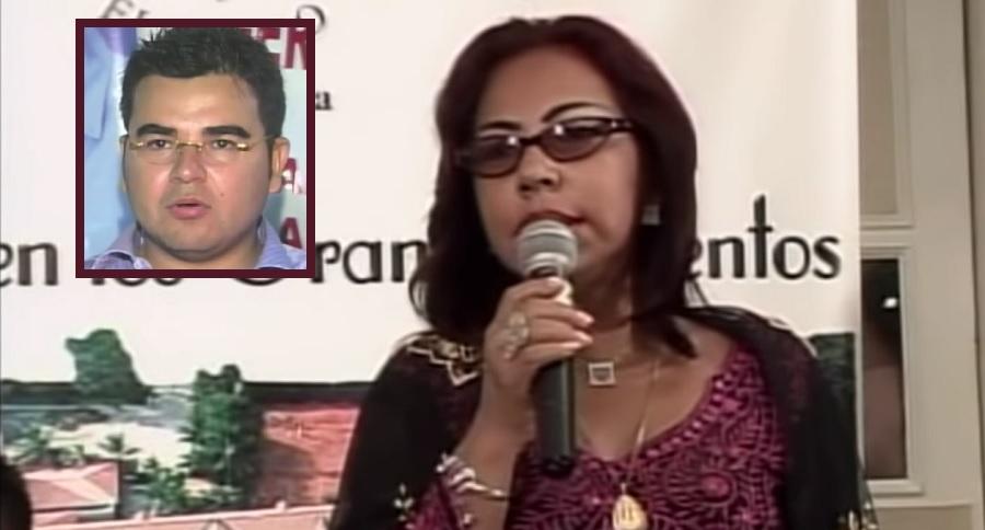 Enilce López, 'la Gata', y su hijo Héctor Julio Alfonso López, excongresista.
