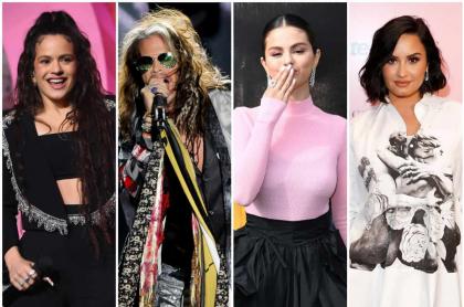 Rosalía / Aerosmith / Selena Gomez / Demi Lovato