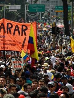 Aparecen misteriosos avisos en Medellín en contra del paro, ¿quién los puso?