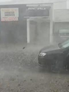 Videos muestran importante magnitud de la primera granizada del año en Bogotá y Cali