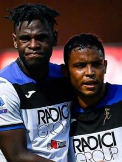 [Video] Los goles de Duván Zapata y Luis Fernando Muriel en goleada histórica de Atalanta