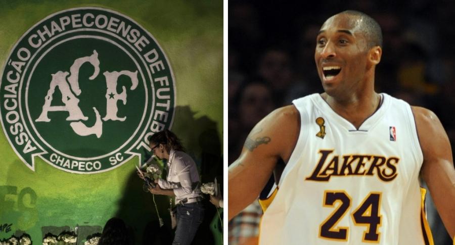 Chapecoense y Kobe Bryant