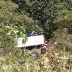 Accidente bus en Caldas.