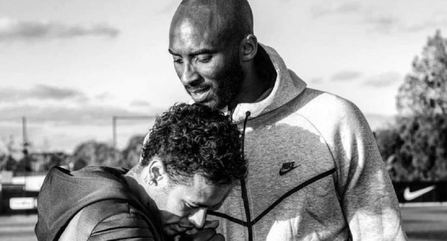 Neymar y Kobe Bryant