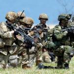 Ejercicios militares en Tolemaida.