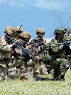 [Fotos] Ejércitos de Colombia y Estados Unidos hicieron ejercicios militares, en Tolemaida