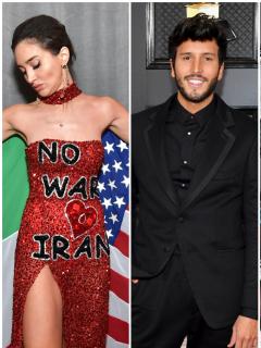 Un oscuro Sebastián Yatra, el vestido inspirado en Trump y más pintas de los Grammy 2020