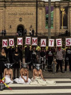 Protestas contra temporada taurina