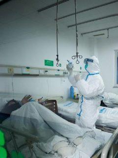Coronavirus - Hospital Wuhan Jinyintan
