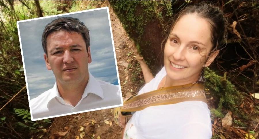 Germán Bahamón y Claudia Bahamón