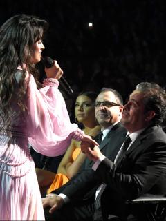 Camila Cabello hizo llorar a su papá al dedicarle canción en los Grammy