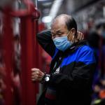 Hombre en Hong Kong