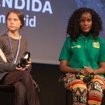 Greta Thunberg y Vanessa Nakate