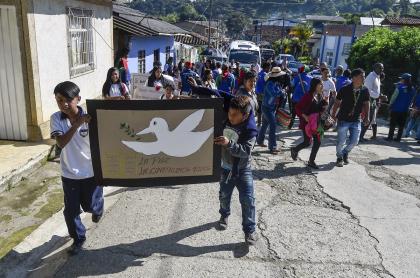 Niños en Caldono, Cauca