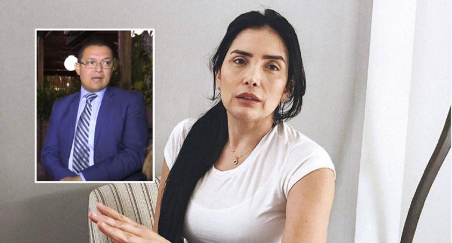 Vladimir Cuadros y Aída Merlano