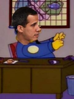 Los memes de Aída Merlano: ¿'Los Simpson' predijeron a Guaidó ordenando su extradición?