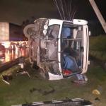 Accidente en la vía Facatativá-Bogotá