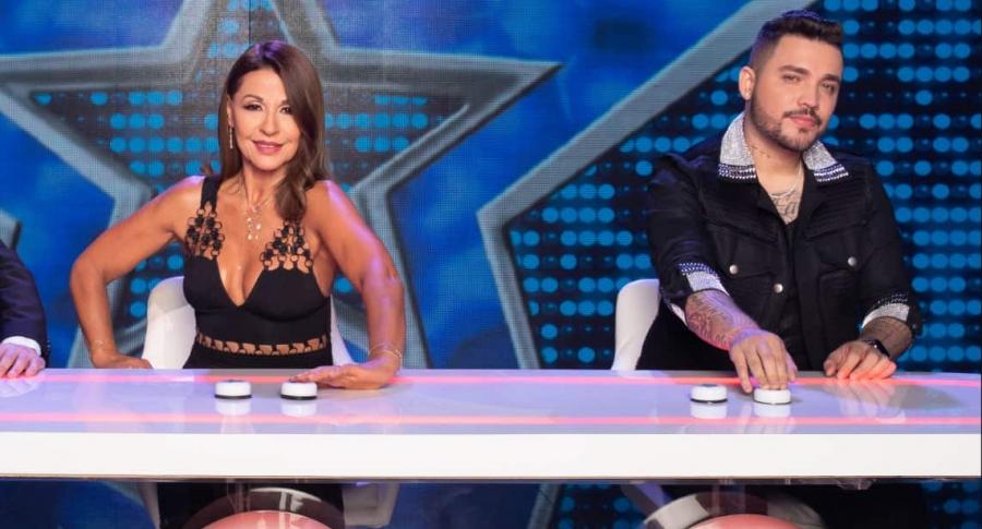Amparo Grisales y Jessi Uribe, jurados de 'Yo me llamo'.