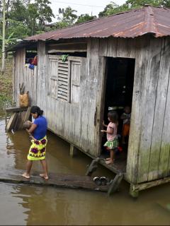 Niños en Chocó