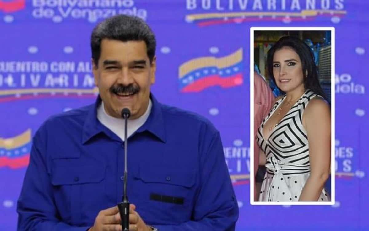 Nicolás Maduro y Aída Merlano