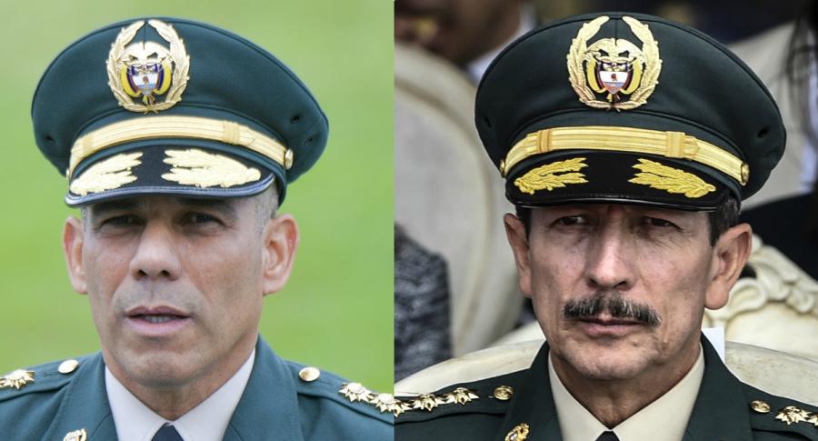 General Eduardo Zapaterio y general (r) Nicacio Martínez