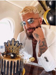 Videos de la fiesta de cumpleaños de Maluma y el mensaje que le dedicó su ex