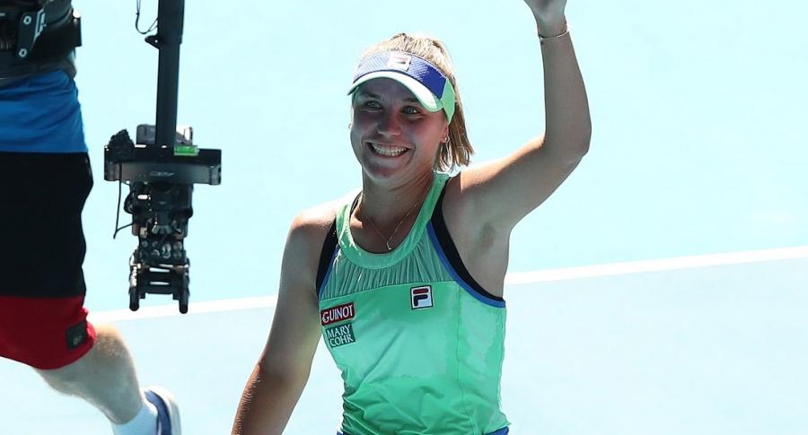 Sofía Kenin finalista del Abierto de Australia 2020