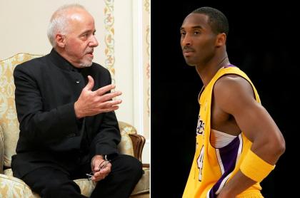 Paulo Coelho, escritor, y Kobe Bryant, basquetbolista.