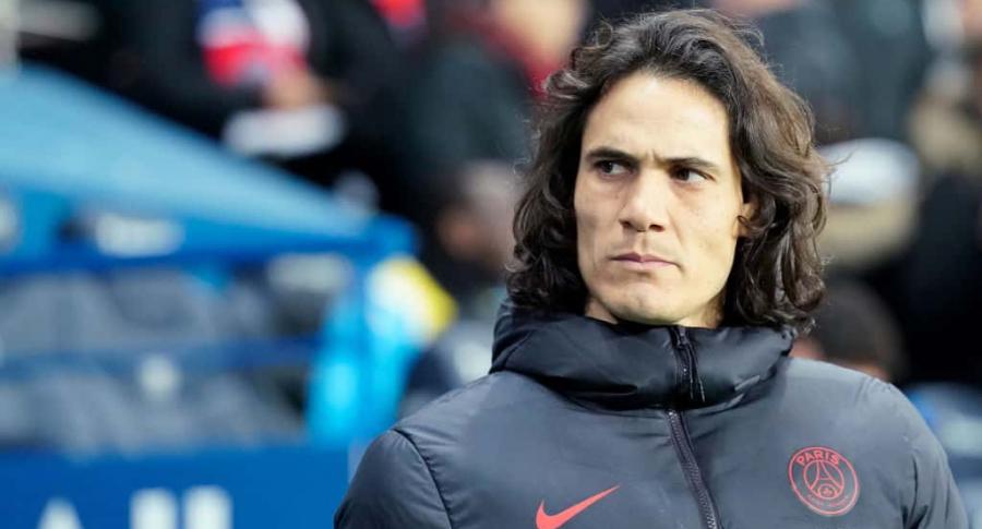 Edison Cavani, jugador del PSG.