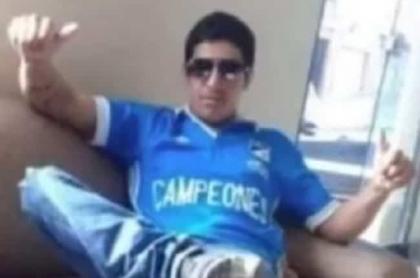 Jhon Alexánder Sabogal, quemado vivo