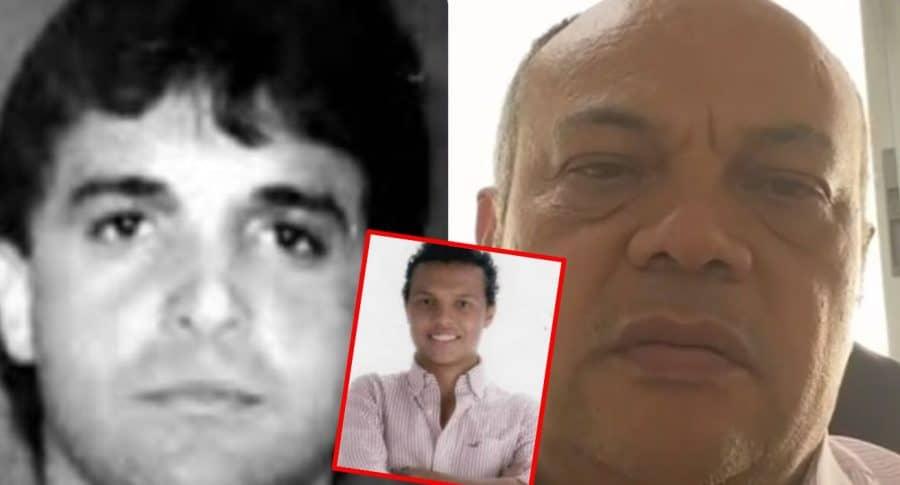 Jaime Saade, Luis Andrés Colmenares y Luis Alonso Colmenares