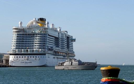 Crucero varado en puerto cerca de Roma por sospecha de coronavirus