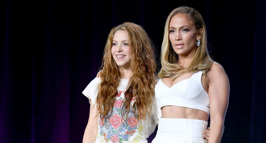 Shakira y 'J Lo'