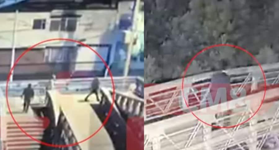 Video triple asesinato Bogotá