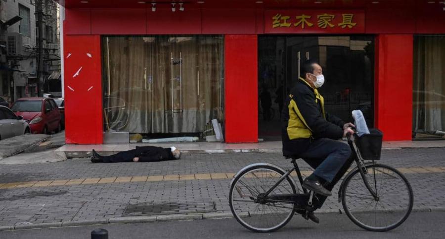 muerto en Wuhan