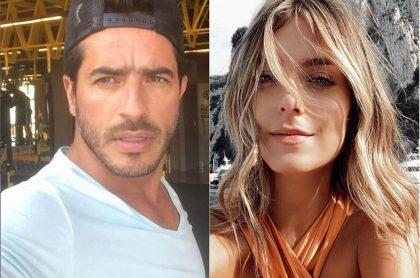 Pedro Palacios, actor, y Laura Tobón, presentadora.