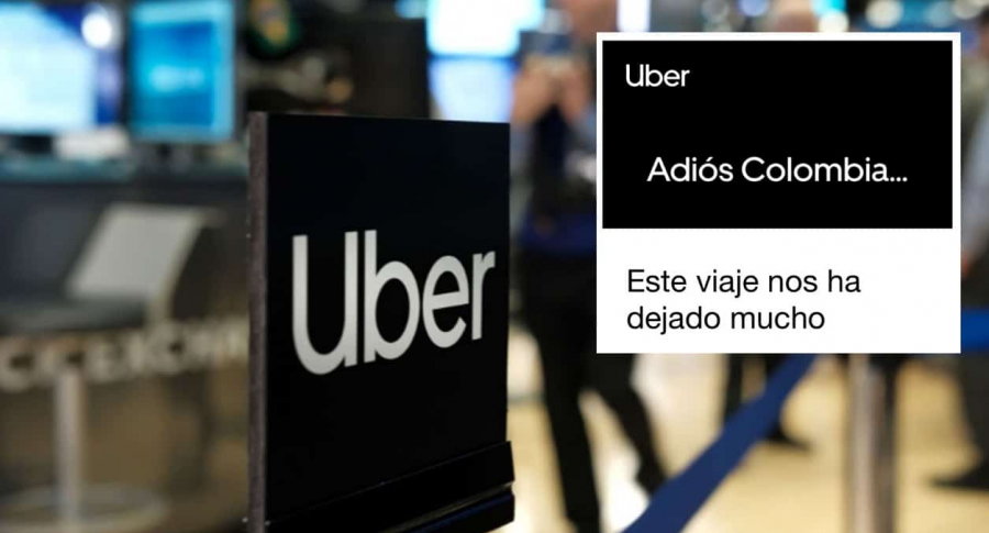 Uber Colombia.
