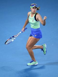 Sofía Kenin, campeona del Abierto de Australia 2020