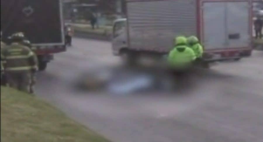 Accidente en la avenida Ciudad de Cali en Bogotá