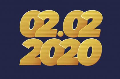 02/02/2020, fecha capicúa.