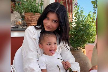Kylie Jenner y Stormi Webster