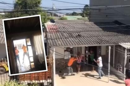 Ataque a vivienda en Soledad, Atlántico.