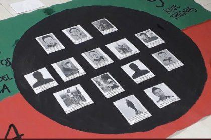 Foto de referencia: asesinato de indígenas en Colombia.