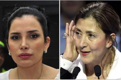 Aída Merlano e Íngrid Betancourt