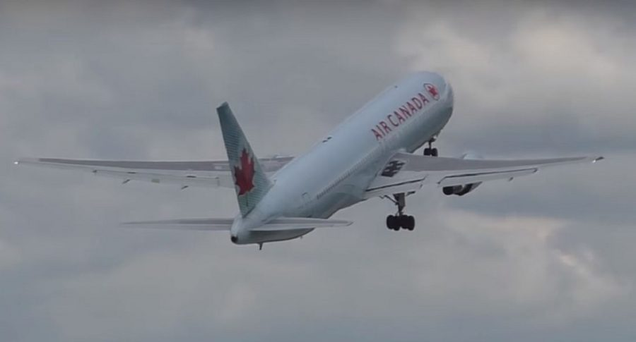 Avión Air Canadá